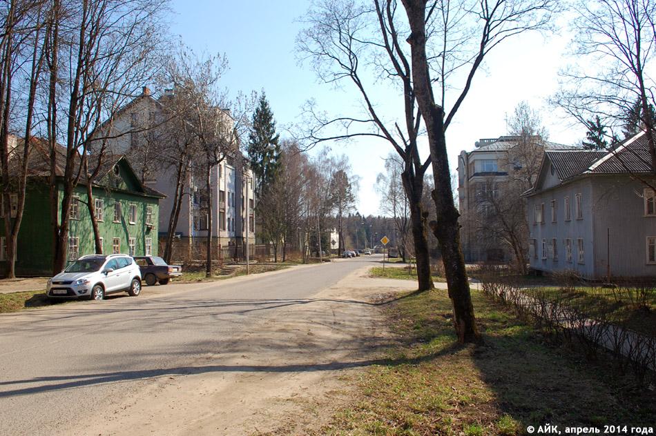 Улица Парковая в городе Обнинске