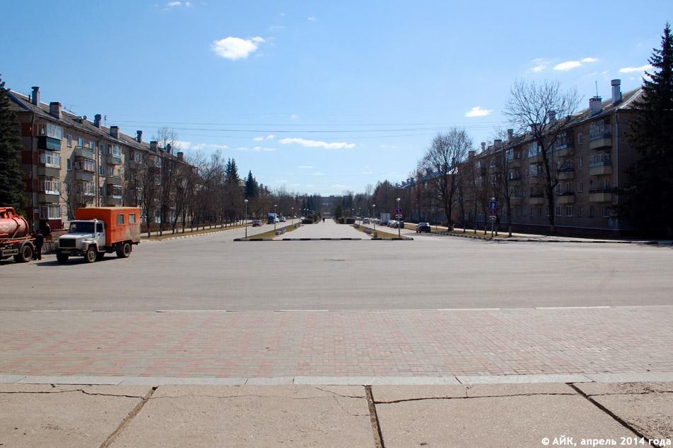 Улица Жукова в городе Обнинске