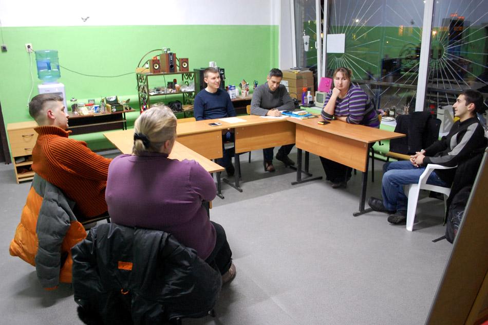 Встреча активистов общественного движения «В одном дворе» в городе Обнинске