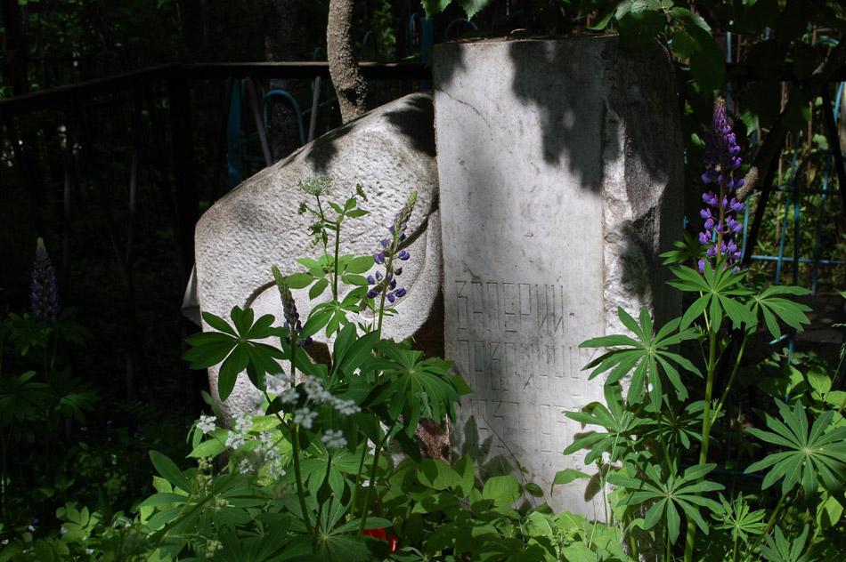 Могила Валерия Алексеевича Павлинчука на кладбище «Кончаловские горы»