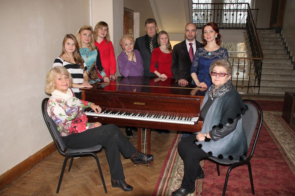Народный вокальный коллектив «Вдохновение» в городе Обнинске