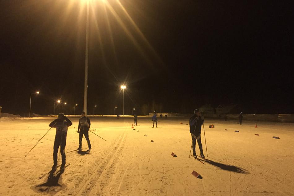 Проверка лыжероллерной трассы в «вечернем режиме» прошла успешно