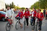 Велопробег на день флага Российской Федерации в 2011 году в городе Обнинске