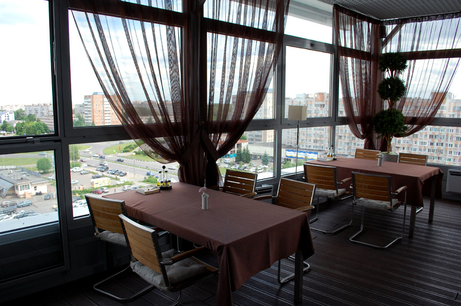 Ресторан «Веранда» в городе Обнинске