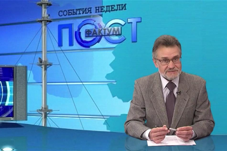 Виталий Васильевич Хлыстов во время эфира на канале «Обнинск ТВ»