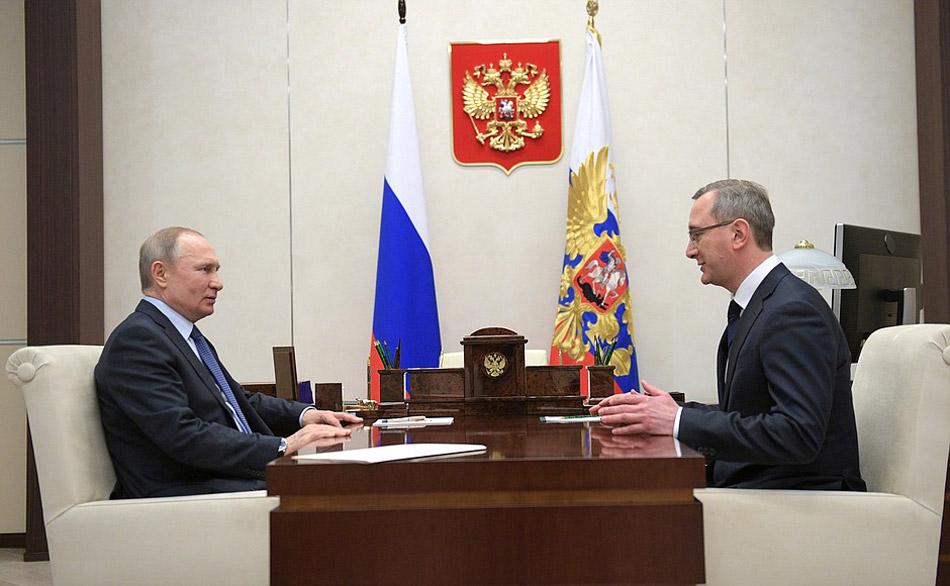 Владимир Владимирович Путин и Владислав Валерьевич Шапша