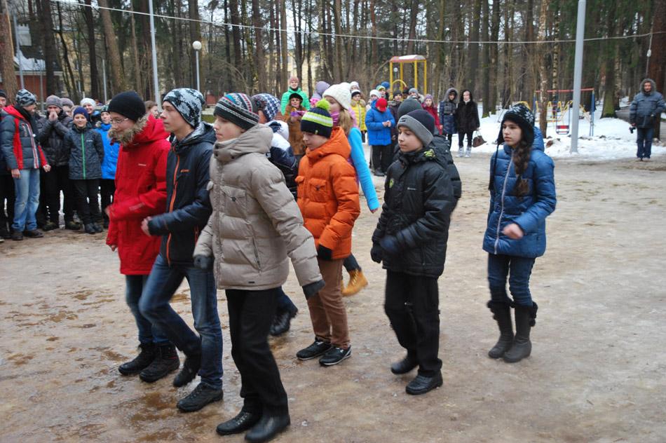 Военно-спортивная игра «Зарница» (15 февраля 2014 года) в городе Обнинске