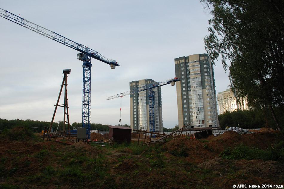 Жилой комплекс «Зелёный остров» в городе Обнинске