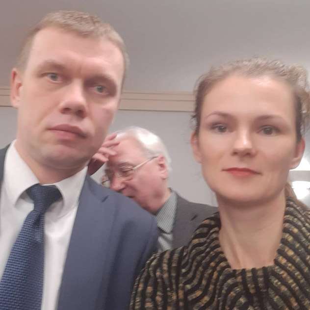 Евгений Викторович Ступин и Татьяна Константиновна Филимонова