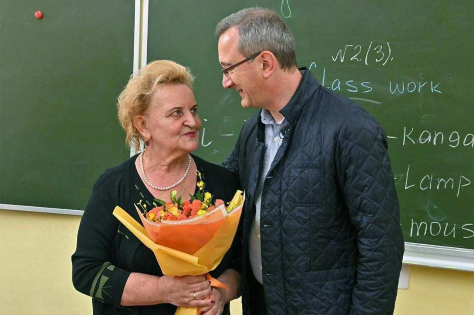 Клавдия Егоровна Бочкова и Владислав Валерьевич Шапша