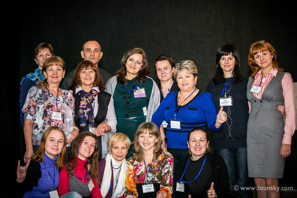 Раиса Николаевна Дорогайкина на тренинге в Киеве